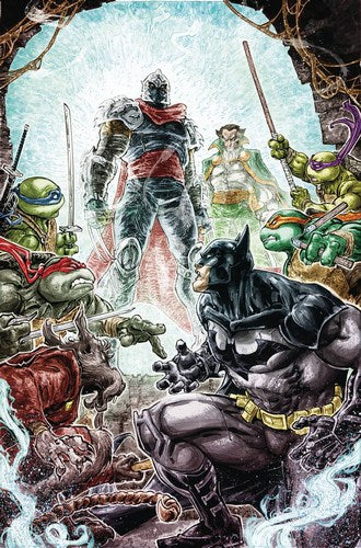 Batman Teenage Mutant Ninja Turtles (2015) #6