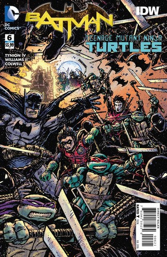 Batman Teenage Mutant Ninja Turtles (2015) #6 (1:50 Eastman Variant)