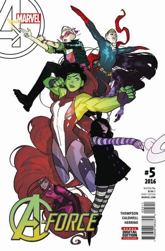 A-Force Volume 2 (2015) #5