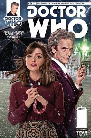 Doctor Who 12th Year 2 (2015) #2 (Brooks Subscription Photo)