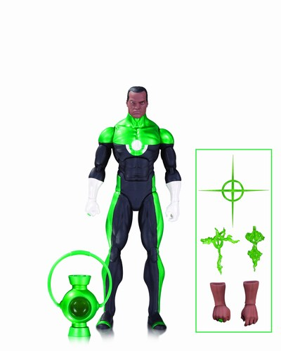DC Icons Green Lantern John Stewart Mosaic Action Figure