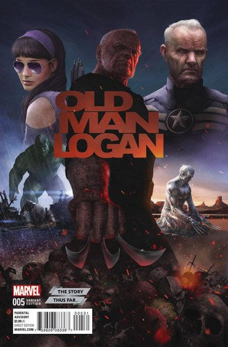 Old Man Logan (2016) #5 (Story Thus Far Variant)