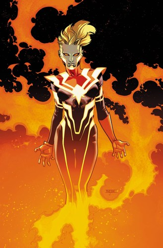 Captain Marvel (2016) #5 (AoA Variant)