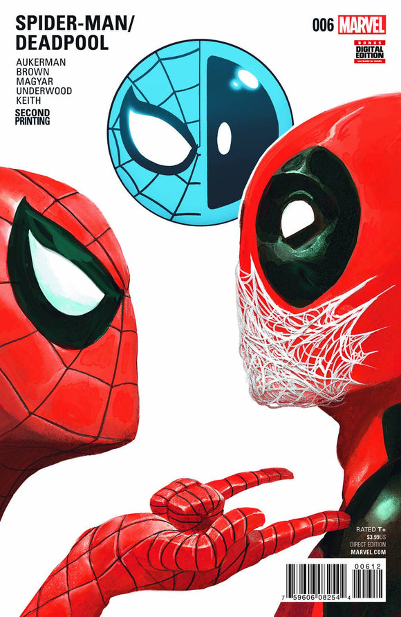 Spider-Man Deadpool (2016) #6 (Del Mundo 2nd Print)