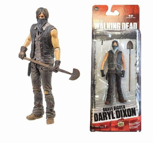 Walking Dead TV Series 9 Grave Daryl Action Figure