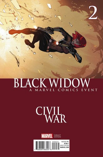 Black Widow (2016) #2 (Civil War Variant)