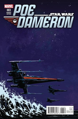 Star Wars Poe Dameron (2016) #3 (1:25 Variant)