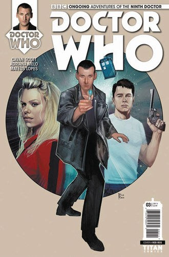 Doctor Who 9th (2016) #3 (Cover A Reis)