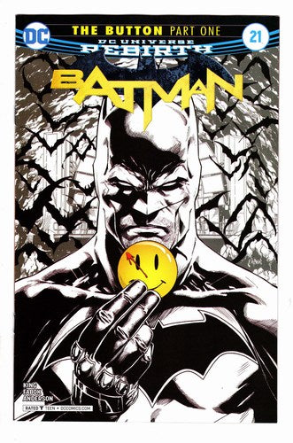 Batman (2016) #21 NM (C2E2 Summit Sketch Variant)