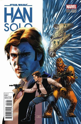 Star Wars Han Solo (2016) #1 (1:50 Cassaday Variant)
