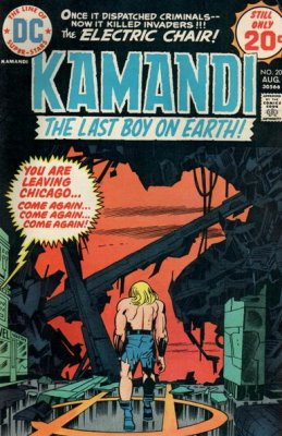 Kamandi, the Last Boy on Earth (1972) #20