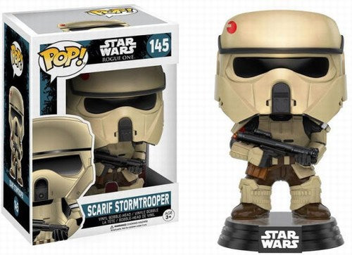 Pop Star Wars Rogue One Scarif Stormtrooper 1 Vinyl Figure