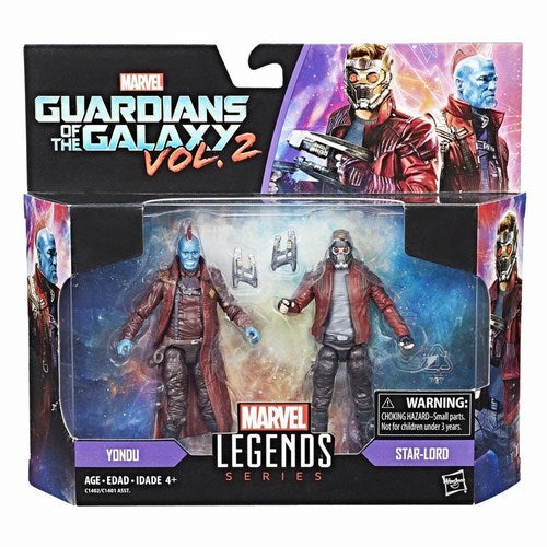 Marvel Legends 3.75-Inch Star-Lord & Yondu 2-Pack Action Figures