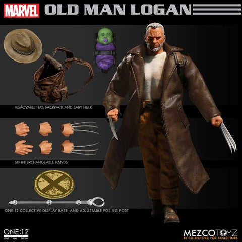 One-12 Collective Marvel Old Man Logan Action Figure