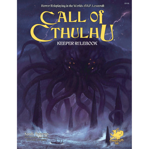 Call of Cthulhu 7E Keeper Core Rulebook