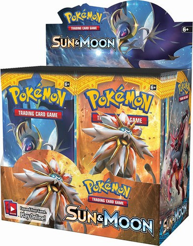 Pokemon TCG Sun & Moon Booster