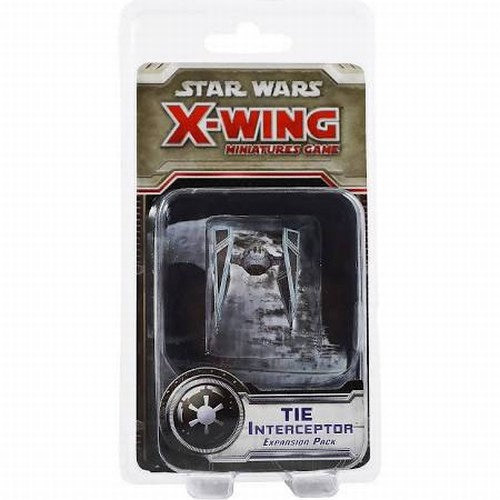 Star Wars X-Wing Expansion Pack Miniature TIE Interceptor