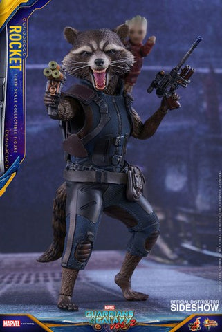 Rocket Guardians of the Galaxy II Movie Masterpieces 1:6 Scale Action Figure