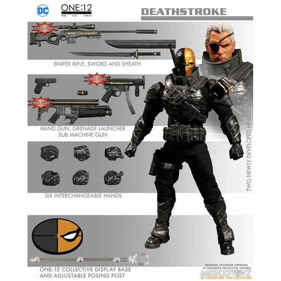 One-12 Collective DC PX Stealth Deathstroke Action Figure