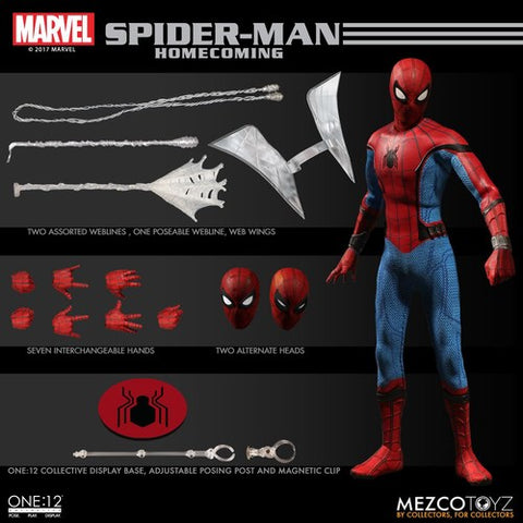 One-12 Collective Spider-Man Homecoming Action Figure