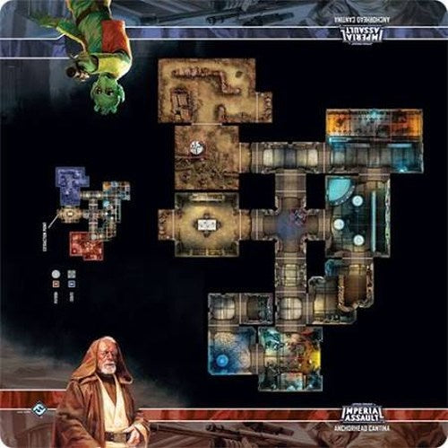 Star Wars Imperial Assault: Skirmish Map - Anchorhead Cantina