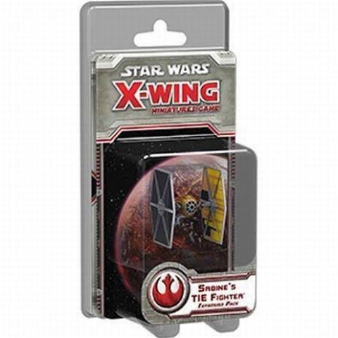 Star Wars X-Wing Expansion Pack Sabines TIE Fighter