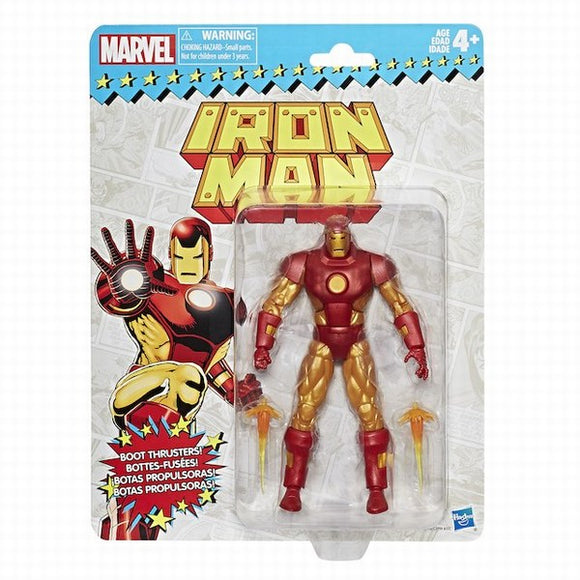 Marvel Legends 6-Inch Vintage Iron Man Action Figure