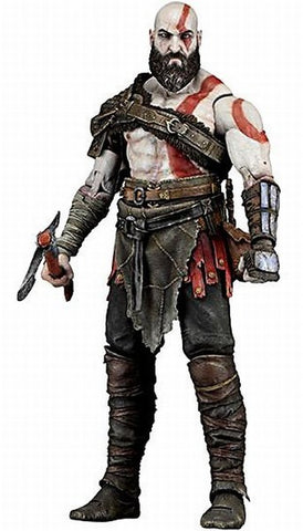 "God of War (2018) - 7"" Scale Action Figure - Kratos"