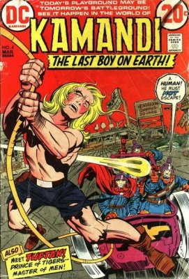Kamandi, The Last Boy on Earth (1972) #4
