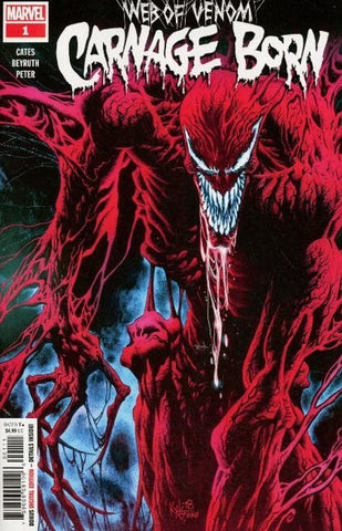 Web of Venom Carnage Born (2018) #1