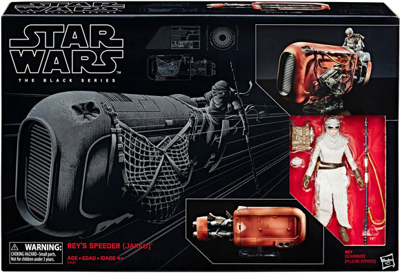 Star Wars 6-Inch Black Series Rey's Speeder Vehicle