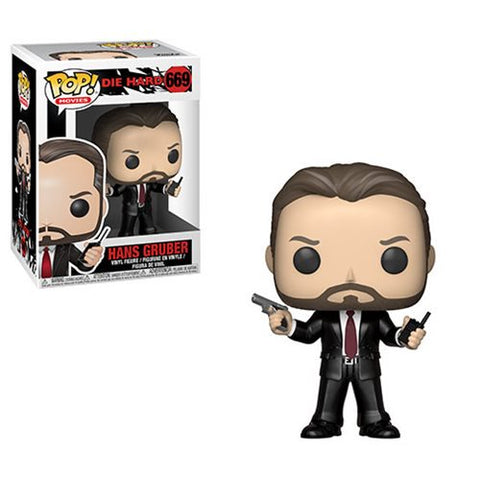Pop Die Hard Hans Gruber Vinyl Figure