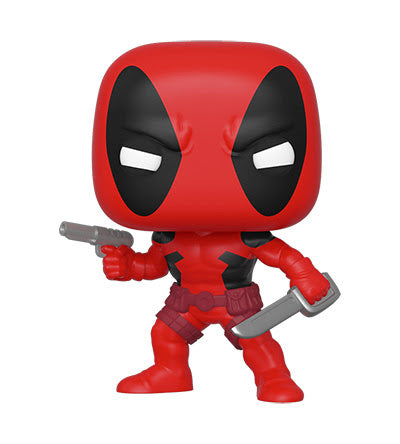 Pop Marvel 80th First Appearance Deadpool Vinyl Figure