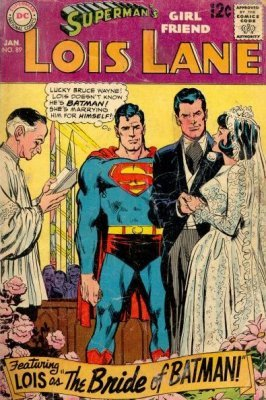Supermans Girlfriend Lois Lane (1958) #89 (Batman)