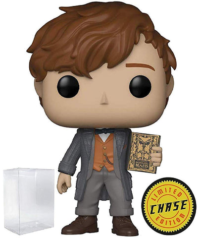 Pop Fantastic Beasts Newt Scamander Vinyl Figure (Chase Variant With Book)