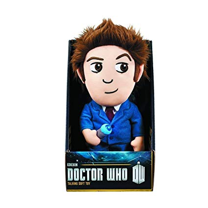 "Doctor Who 9"" Talking Plush 10th Doctor"