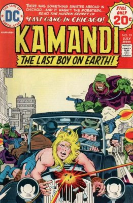 Kamandi, the Last Boy on Earth (1972) #19
