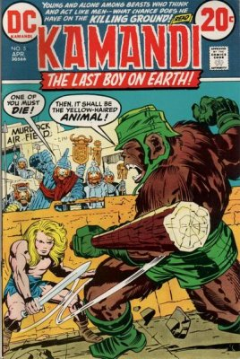 Kamandi, the Last Boy on Earth (1972) #5