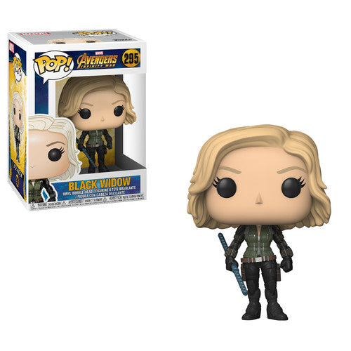 Pop Marvel Avengers Infinity War Black Widow Vinyl Figure