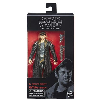 Star Wars 6-Inch Episide VIII DJ Canto Bight Action Figure