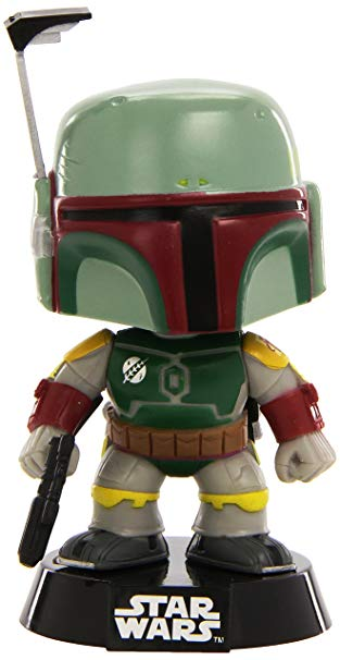 Pop Star Wars Boba Fett Vinyl Figure