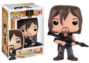Pop Walking Dead Daryl Dixon With Rocket Launcher Vinyl Figure