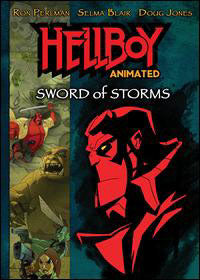 Hellboy: Sword of Storms DVD