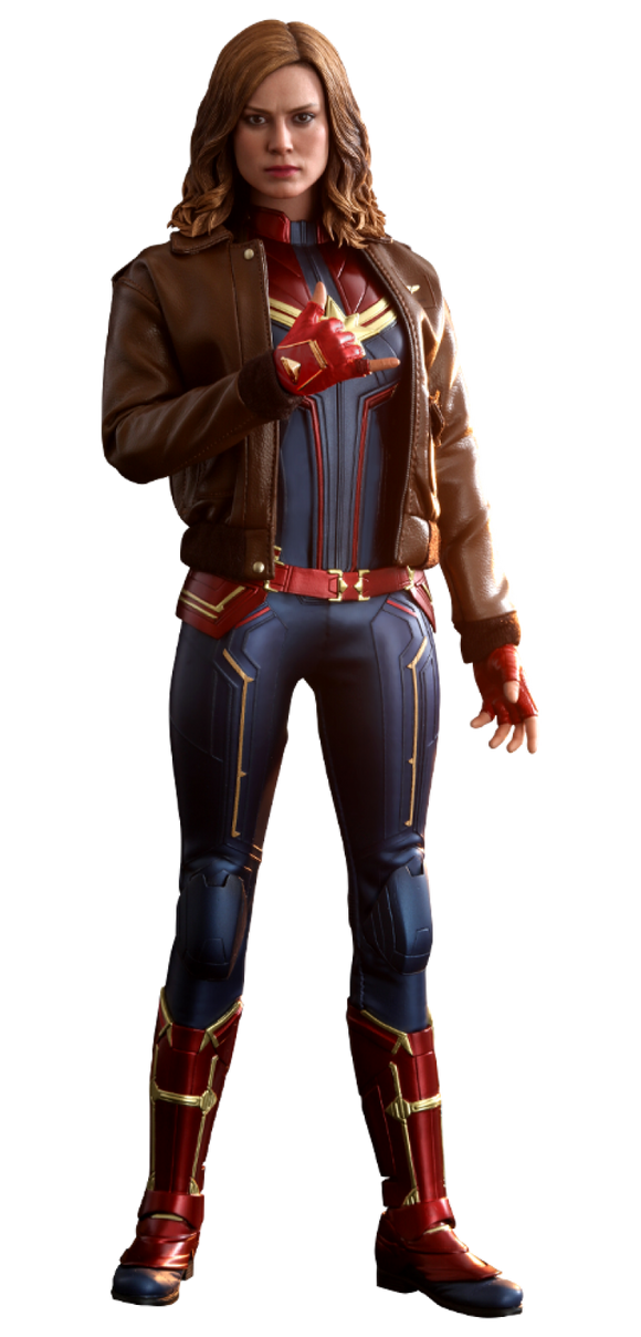 Captain Marvel Deluxe Version 1:6 Scale Action Figure - Hot Toys
