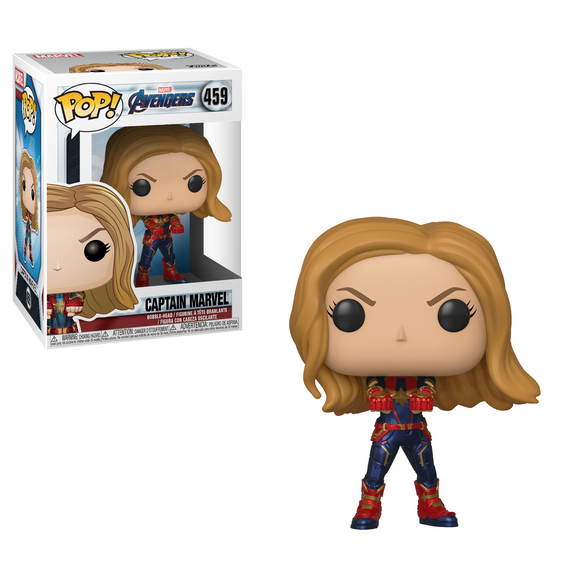 Pop Marvel Avengers Endgame Captain Marvel Vinyl Figure