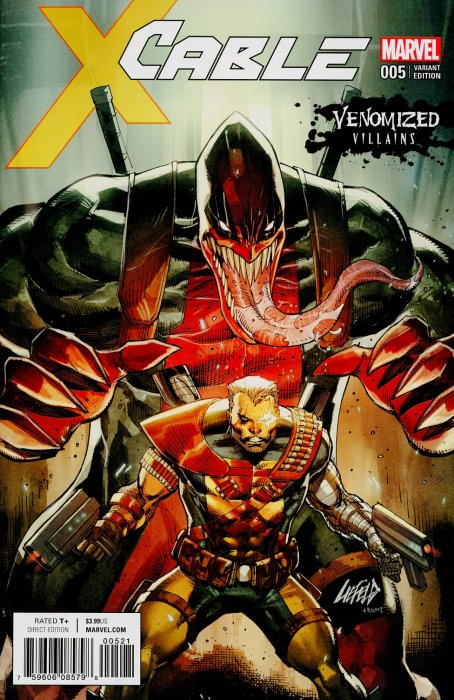 Cable (2017) #5 (Venomized Deadpool Variant)