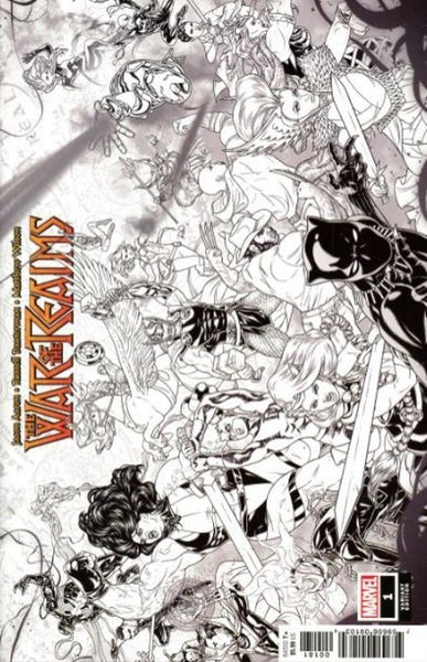 War of the Realms (2019) #1 (1:10 DAUTERMAN CONCEPT VAR)