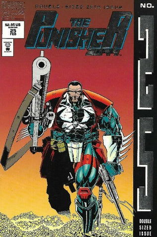 Punisher 2099 (1993) #25 (Embossed Cover)