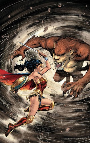 Wonder Woman Tasmanian Devil Special (2017) #1 (signed by Barry Kitson)