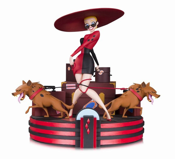 Batman Animated Harleys Holiday Statue